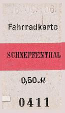 Fahrradkarte Schneppenthal